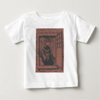 Red Krampus Window Switch Baby T-Shirt