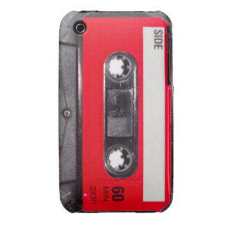 Red Label Cassette Case-Mate iPhone 3 Cases