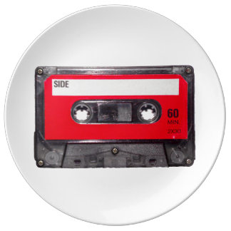 Red Label Cassette Plate