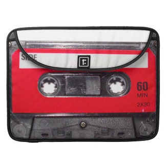 Red Label Cassette Sleeve For MacBook Pro