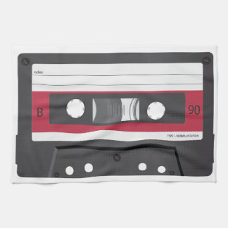 Red label Compact Cassette Towel
