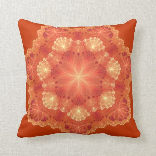 Red Lace Pillows