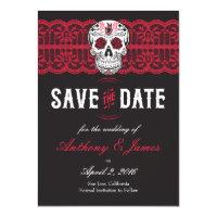 Day Of The Dead Wedding Invitations U0026 Announcements | Zazzle