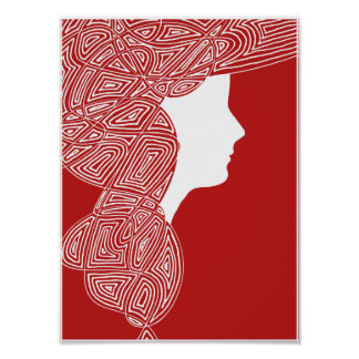 Red Lady Poster