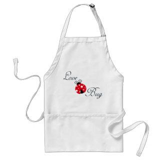 Red  Ladybug Adult Apron