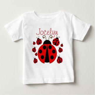 Red Ladybug Baby T-Shirt