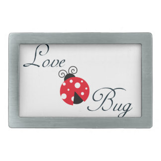 Red  Ladybug Belt Buckle