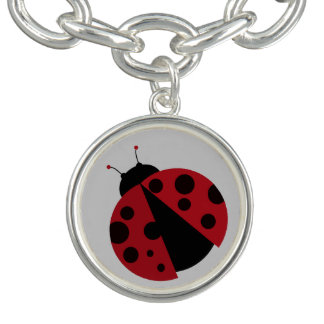 red ladybug bracelets