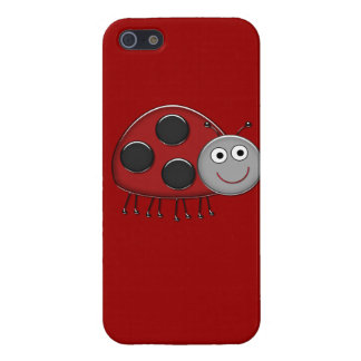 Red Ladybug Cell Phone Case