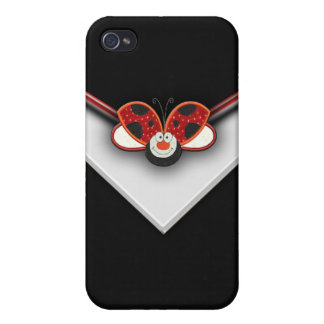 Red Ladybug Cell Phone Case iPhone 4 Case