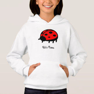 Red ladybug hoodie
