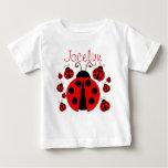 Red Ladybug Infant T-shirt