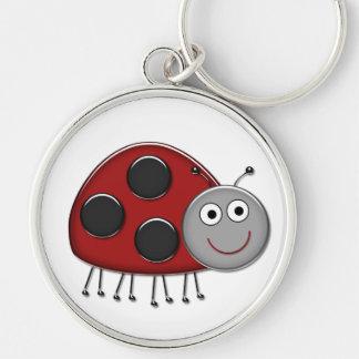 Red Ladybug Keychain