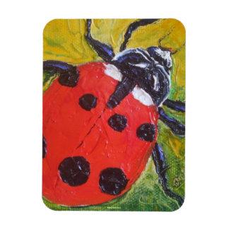Red Ladybug Premium Magnet