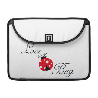 Red  Ladybug Sleeve For MacBook Pro