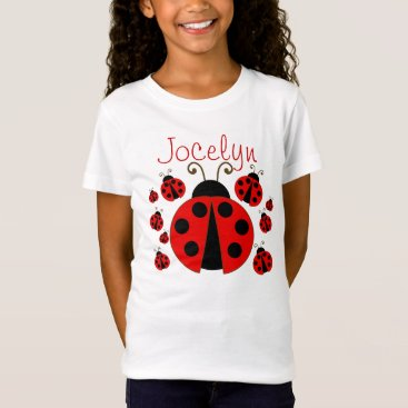 Toddler & Baby themed Red Ladybug T-Shirt