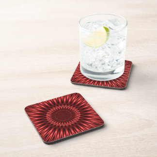 Red Lagoon Drink Coaster