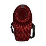 Red Lagoon Messenger Bags