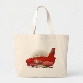 Red Land Speed Car Bags/Totes Jumbo Tote Bag
