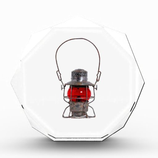 Red Lantern Acrylic Award