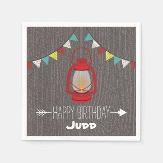 Red Lantern Birthday Napkins