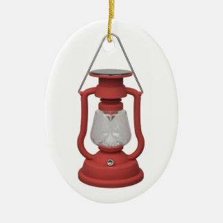 Red Lantern Christmas Ornament