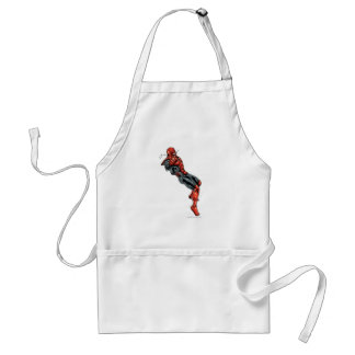 Red Lantern Corps - Rage Leaning 2 Adult Apron