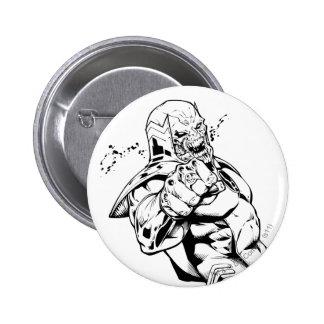 Red Lantern Corps - Rage Leaning 3 Pinback Button