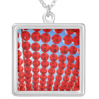 Red Laterns Personalized Necklace