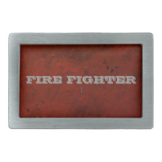 Red Lava Belt Buckle