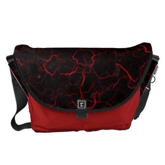 RED LAVA MESSENGER BAG