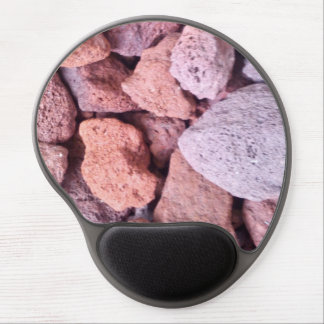 Red Lava Rock Gel Mouse Mat