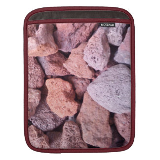 Red Lava Rock Sleeve For iPads
