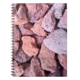 Red Lava Rock Notebook