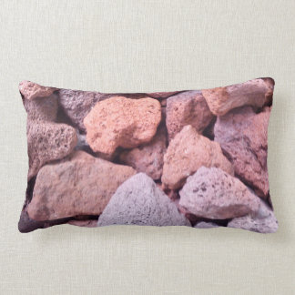 Red Lava Rock Pillow