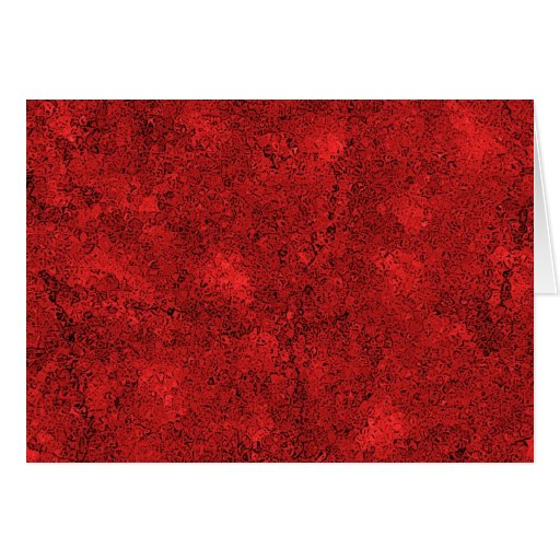 Red Lava Rock Texture Greeting Cards