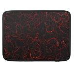 RED LAVA SLEEVE FOR MacBook PRO