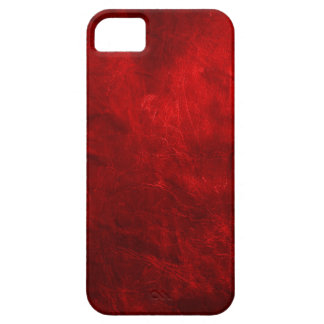 Red Leather iPhone SE/5/5s Case