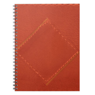 Red Leather Look Designer COWBOYS Note Books