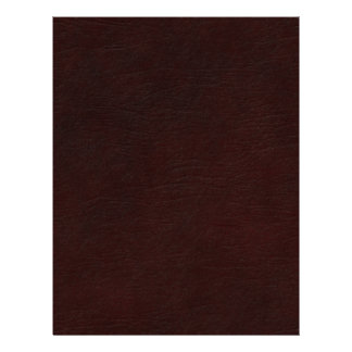 Red Leather Look Letterhead