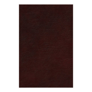 Red Leather Look Stationery
