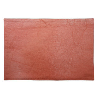 Red Leather Placemat