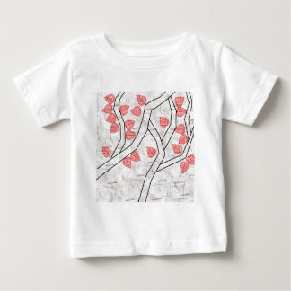 red leaves baby T-Shirt