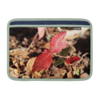 Red Leaves MacBook Air Sleeve