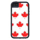 Red Leaves iPhone 5 Covers