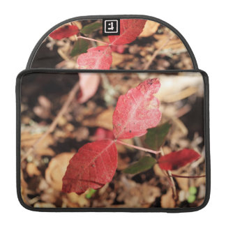 Red Leaves Sleeves For MacBook Pro