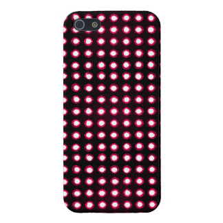 red Led light iPhone 5 Cover