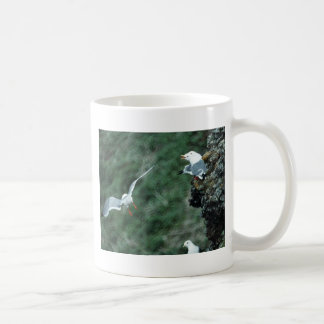 Red-legged Kittiwake Colony Coffee Mugs