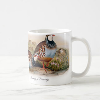 Red-legged Partridge Coffee Mug