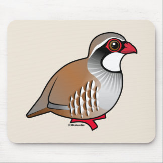 Red-legged Partridge Mouse Pad